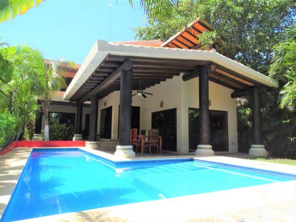Casa Estrella penzion v Puerto Aventuras v Mexiku
